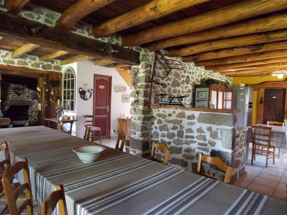Gite Le Couturon - Allier - Salle a manger