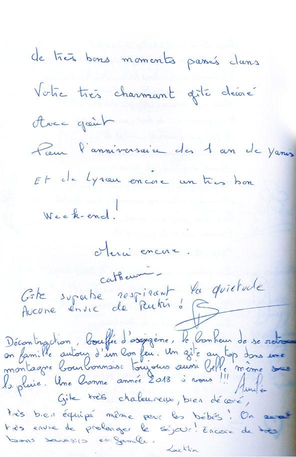 Gite Le Couturon Allier avis clients